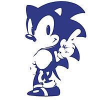 Minimalist Sonic 9 by 4xUlt