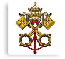 vatian key pope Canvas Print