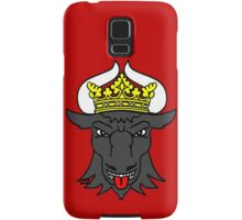 Mecklenburg bull king crown Samsung Galaxy Case/Skin