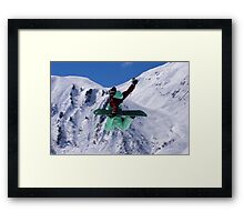 Competition 1 Framed Print