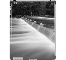 Audley Weir in flood iPad Case/Skin