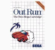 Outrun Master System Sega Box cover by ruter