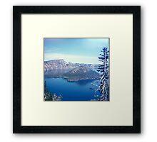 At the Lake 1003 Framed Print