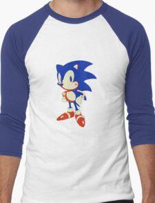Minimalist Sonic 10 Men's Baseball ¾ T-Shirt