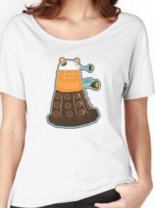 Candy Corn Dalek 2 Women's Relaxed Fit T-Shirt