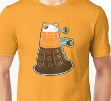 Candy Corn Dalek 2 Unisex T-Shirt