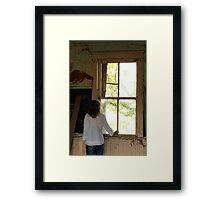 Big Old Window Framed Print