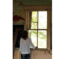 Big Old Window Photographic Print