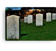 41 Unkown Confederate Soldiers Canvas Print