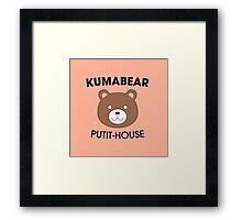 KUMABEAR PUTIT-HOUSE - Shokugeki No Soma Framed Print