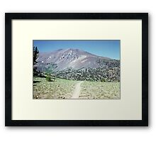At the Mountain 1001 Framed Print