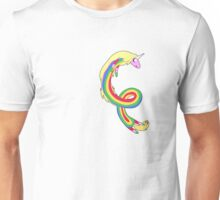 Twirl me Lady Rainicorn Unisex T-Shirt