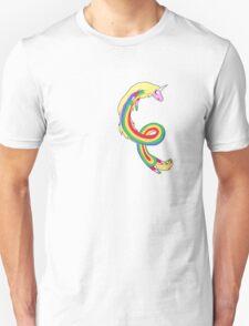 Twirl me Lady Rainicorn T-Shirt