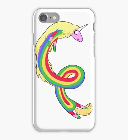 Twirl me Lady Rainicorn iPhone Case/Skin