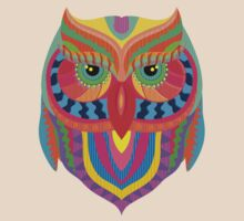 Awesome Owl Pattern 2 T-Shirt
