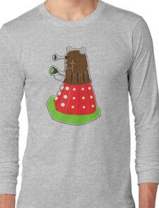 Chocolate Covered Strawberry Dalek Long Sleeve T-Shirt