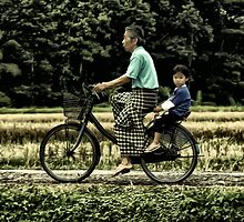 Ride With Grandpa by John Felix