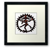 shiva indian god Hindu Framed Print