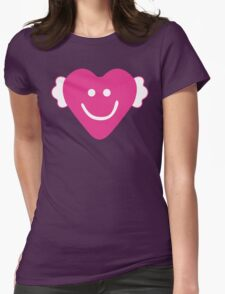 Cute Candy Heart - Grey and Pink T-Shirt