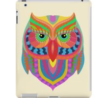 Awesome Owl Pattern 2 iPad Case/Skin