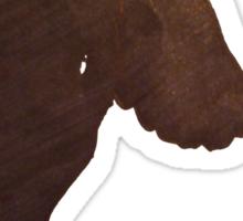 Angel Silhouette Sticker