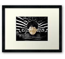 Doctor Who - Second Doctor Intro Framed Print