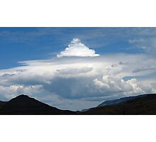 Thundercell forming Photographic Print