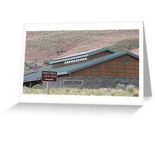 Thomas Condon Paleontology Center Greeting Card