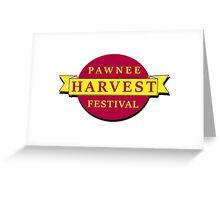 Pawnee Harvest Festival Greeting Card