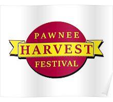 Pawnee Harvest Festival Poster