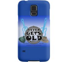 The Never Gets Old Logo music and adventure Samsung Galaxy Case/Skin