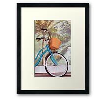 Byron Bicycles Framed Print