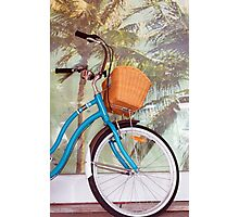 Byron Bicycles Photographic Print
