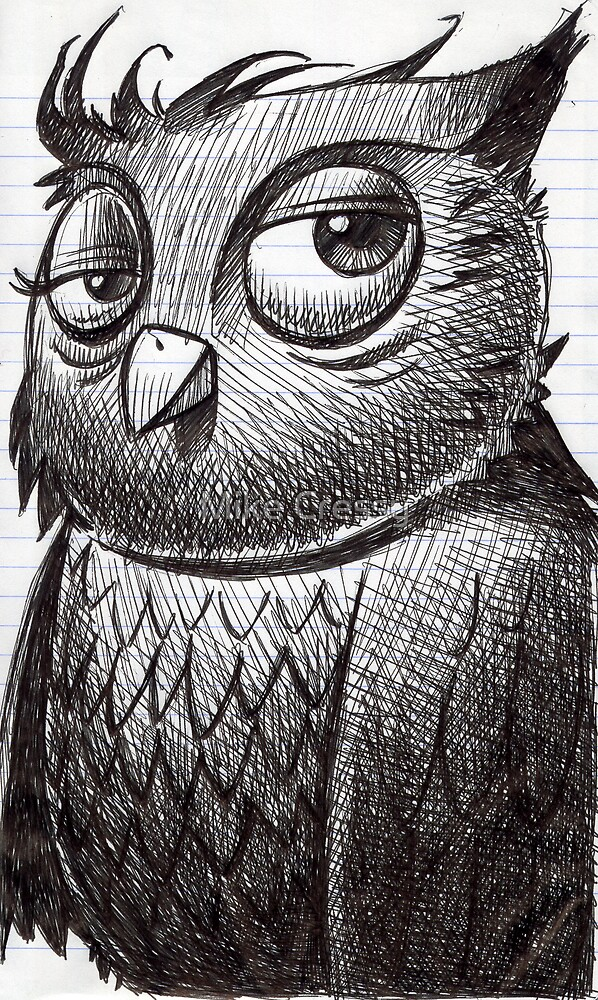 Owl O'brian by Mike Cressy