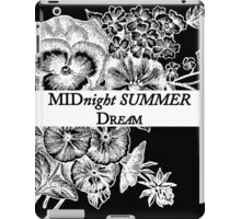 Midnight Summer Dream iPad Case/Skin