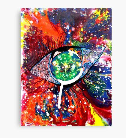 CRAZY EYE Canvas Print