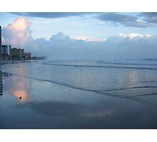 City Sea Scape Photographic Print