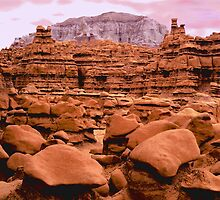 'Goblin Valley Dusk' by DLUhlinger