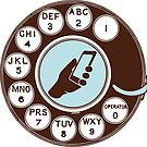 Dial numbers with analoque mobile phone by SofiaYoushi