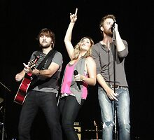 Lady Antebellum by Angela Lance