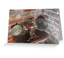 An Old Copper Kettle Greeting Card