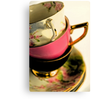 Cup Stack Canvas Print