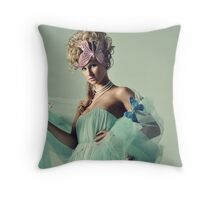 Back In Neverland Throw Pillow