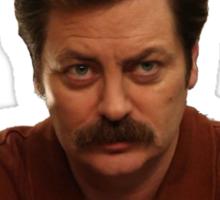 Ron fucking Swanson Sticker