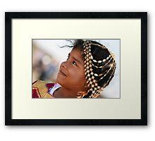 Little Princess Framed Print