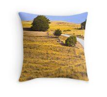King Island landscape + Throw Pillow