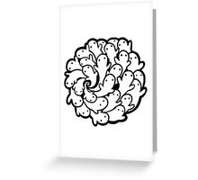OH HI! WE ARE LEGION (black) Greeting Card