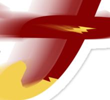 Flash AR Berkley Font Iconic Charactography - F Sticker