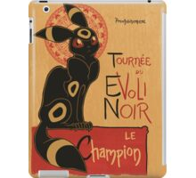 Le Evoli Noir iPad Case/Skin