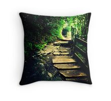 The Hole in the Trees Throw Pillow